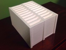 Expanded Polystyrene foam packaging