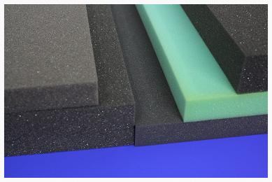 EPS, PE and PU Materials in a Variety of Densities